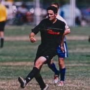 photo man playing soccer