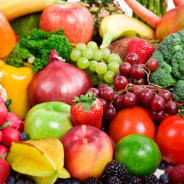 photo fresh fruits and vegetables