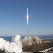 photo of rocket launch