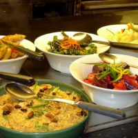 photo of various bowls of healthy food